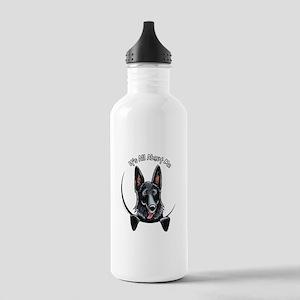 Black GSD IAAM Stainless Water Bottle 1.0L