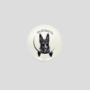 Black GSD IAAM Mini Button