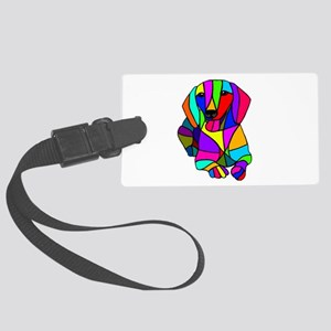 doxie lay down Luggage Tag