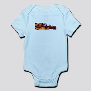 Rat Rod Flames Infant Bodysuit