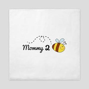 Mommy 2 Bee Queen Duvet