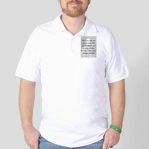 Franklin - War Peace Polo Shirt