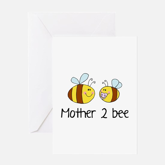 Mommy 2 Bee Greeting Card