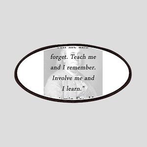 Franklin - Tell Teach Involve Patch