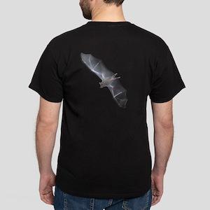 Flying Bat Dark T-Shirt (back)