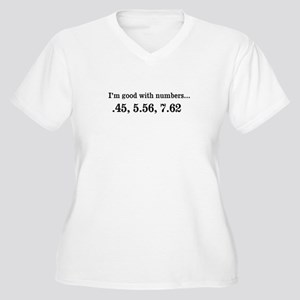 Good with numbers shirt Plus Size T-Shirt