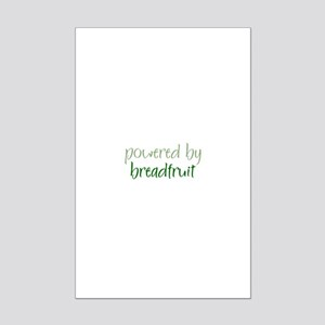 Powered By breadfruit Mini Poster Print