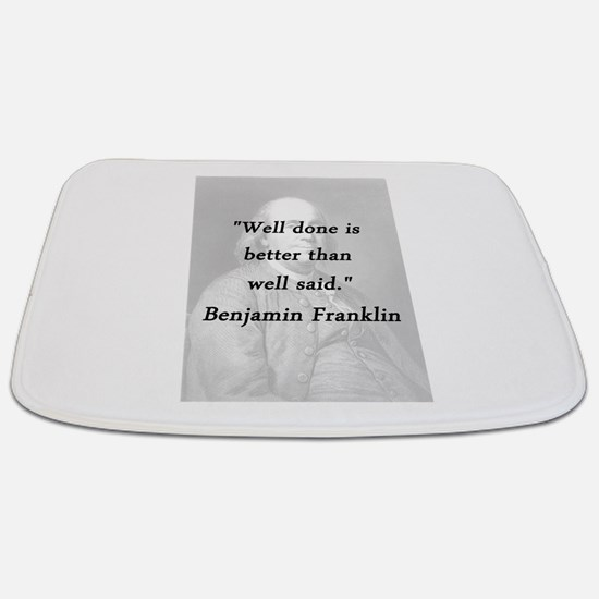 Franklin - Well Done Bathmat