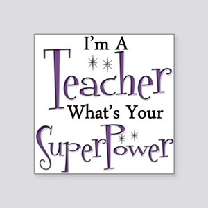 super teacher Sticker