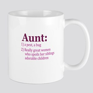 Aunt Definition Pest Spoiler Mug