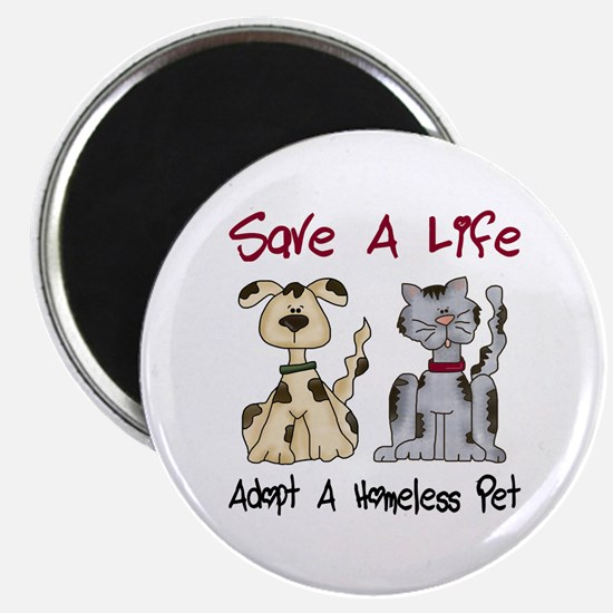 Adopt A Homeless Pet Magnet
