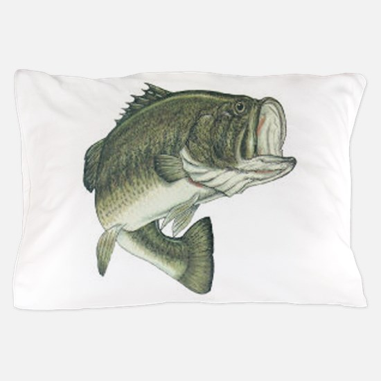 large mouth bass Pillow Case
