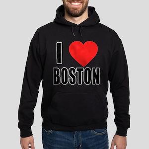 I HEART BOSTON Hoodie (dark)