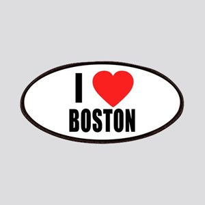 I HEART BOSTON Patches
