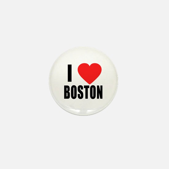 I HEART BOSTON Mini Button