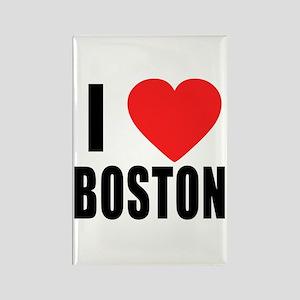 I HEART BOSTON Rectangle Magnet