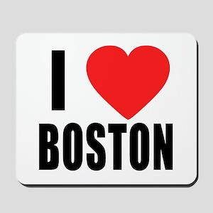 I HEART BOSTON Mousepad