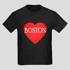 BOSTON LOVE Kids Dark T-Shirt