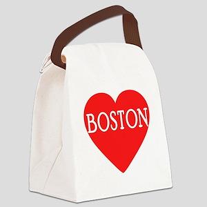 BOSTON LOVE Canvas Lunch Bag