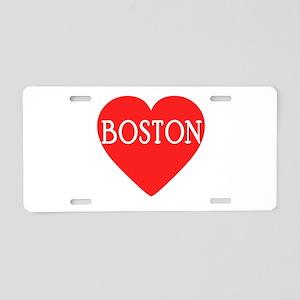 BOSTON LOVE Aluminum License Plate