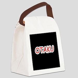 Otaku RED Canvas Lunch Bag