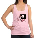 pirate jack russell2 Racerback Tank Top