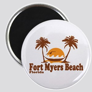 Fort Myers - Palm Trees Design. Magnet
