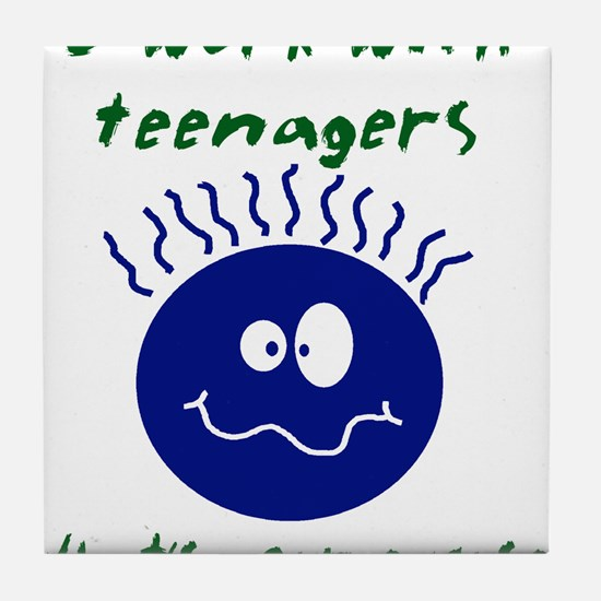 teenagers.png Tile Coaster