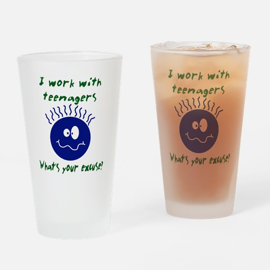teenagers.png Drinking Glass