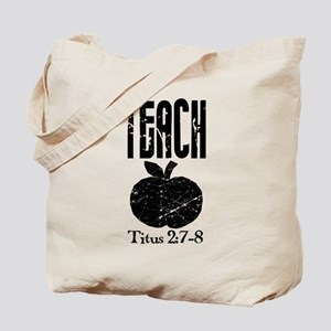 teach titus 2 Tote Bag