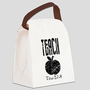 teach titus 2 Canvas Lunch Bag