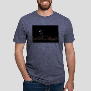 i love dog Mens Tri-blend T-Shirt