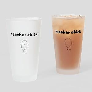 teacherchick Drinking Glass
