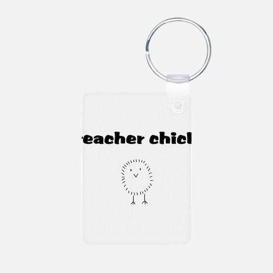 teacherchick.png Keychains
