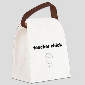 teacherchick Canvas Lunch Bag