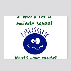 workinamiddleschool Postcards (Package of 8)