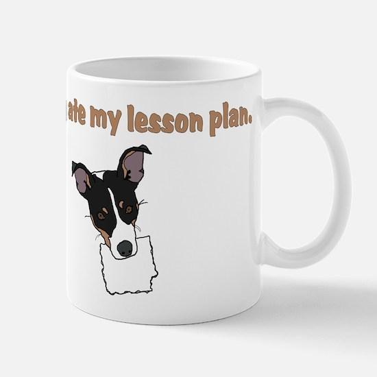 dog ate my lesson plan.png Mug