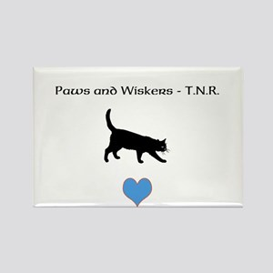 PAW T-shirt Rectangle Magnet