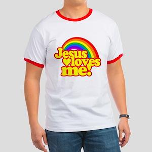 Jesus Loves Me Rainbow T-Shirt