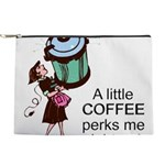 FIN-coffee-perks-me-up Makeup Pouch