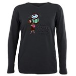 FIN-coffee-perks-me-up Plus Size Long Sleeve T