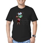 FIN-coffee-perks-me-up Men's Fitted T-Shirt (d