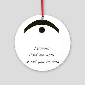 fermata Ornament (Round)