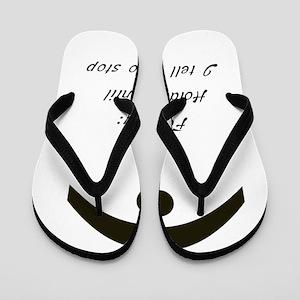 9754ba475a14f5 Funny Romantic Flip Flops - CafePress