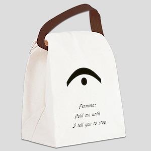 fermata Canvas Lunch Bag