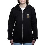 FIN-express-yourself-1 Women's Zip Hoodie