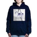 FIN-try-our-coffee-ad Women's Hooded Sweatshir