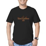 FIN-hot-coffee Men's Fitted T-Shirt (dark)