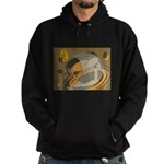 FIN-abstract-coffee Hoodie (dark)