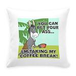 FIN-ass-coffee-break Everyday Pillow